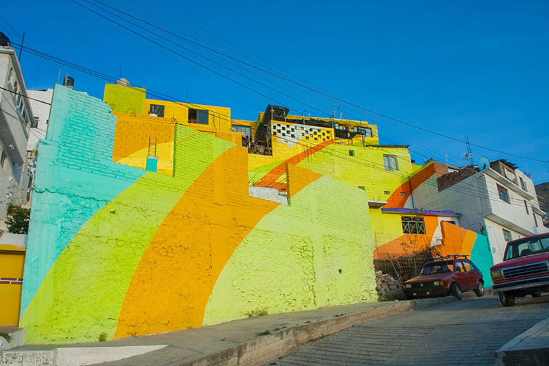 Community Unites Over Street Art Project to Paint houses in their Neighborhood (3)